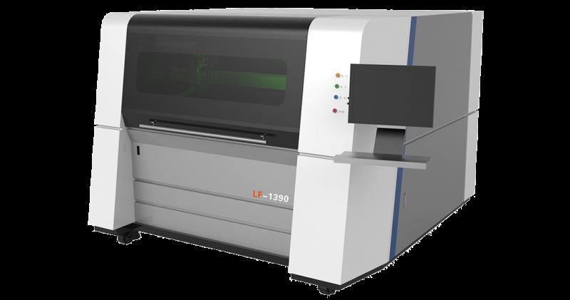 Μηχανή κοπής μετάλλου κλειστού τύπου fiber laser LF 1390 υψηλής ακρίβειας