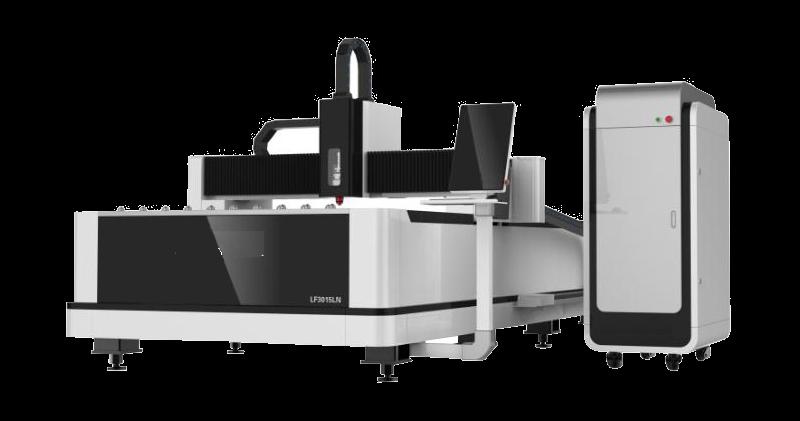 Μηχανή κοπής μετάλλου 3015CN ανοιχτου τύπου fiber laser LF3015CN